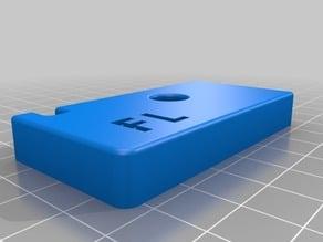 TEVO Tornado Glassbedclamps 3mm