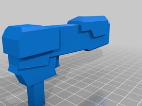 Pistol for Omnidirectional Fighting Robot