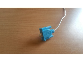 VGA connector for USB charger