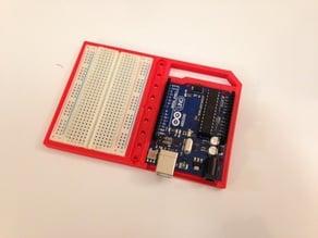 Arduino w/Breadboard Holder