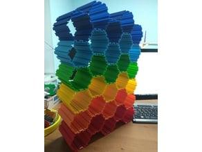 "Yet another ""Honeycomb type"" storage"