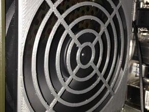 Screwless Pin-Mount Fan Grill