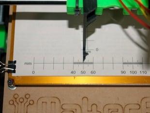 Prusa v2 X-Y Calibrating Aid