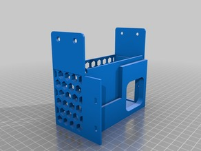 Monoprice Maker Select (Wanhao Duplicator i3) Meanwell NES-350 Power Supply (PSU) Cover and Mount