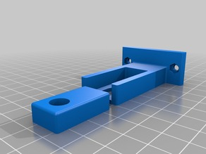 Self alignment Z axis rod clamp for ROBO3D