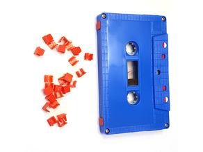 Audio Cassette Tape Record Protection Tabs