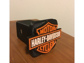 Harley Davidson Hitch Cover