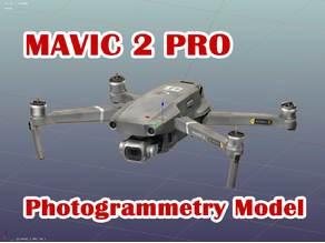 MAVIC 2 PRO Photogrammetry Model
