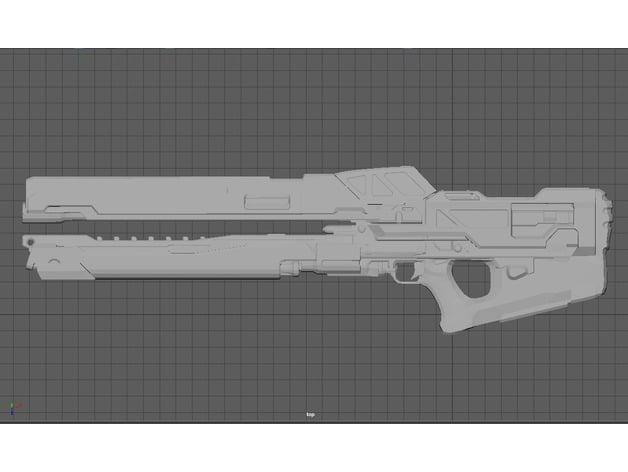 Railgun [Halo 4] by misterchiefcostuming - Thingiverse