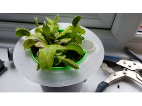 Collar Flange for Self-Watering planter