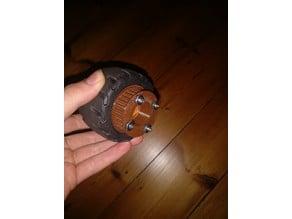 Roue denté pour skate électrique HTD5