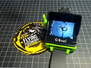 GTeng T909 FPV Watch Sun Hood Modding Case