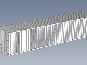 40 Plate Container HO Scale