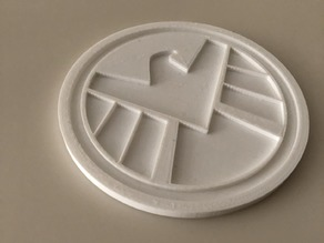 SHIELD logo coaster