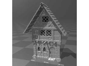Medieval house facade 1