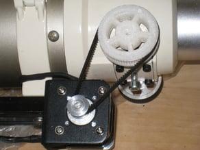 SkyWatcher ED80 Focuser wheel