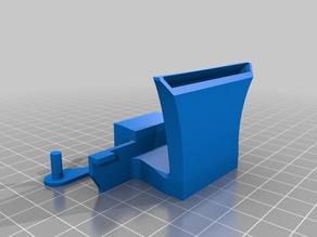 Rear Active Cooling Duct for FlashForge Creator Pro