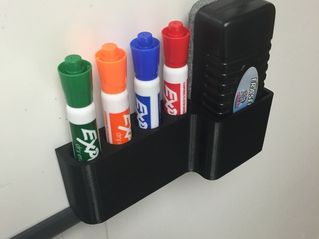 dry erase marker caddy by talasyn
