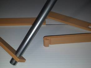 Filament Reel Hangers for 15mm Rod