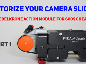 Proaim camera Slider motorized conversion kit