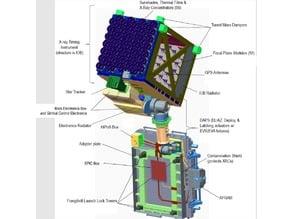 NASA NICER scale model