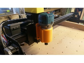Spindle Mount for X-Carve (DeWalt D26200)