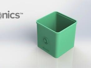 Square Pot - 3Dponics Cube System