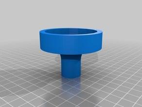 7/16 (11mm) hex knob handle 25mm or 60mm OD