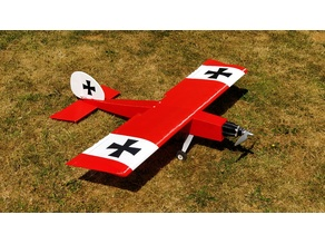 Das Liddle Stik RC Airplane