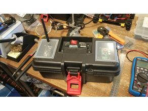 Toolbox to battery / controller box conversion kit for Hyper Tough toolbox