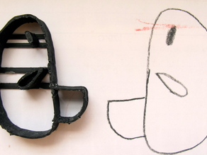 Duckie the Duck Cookie Cutter