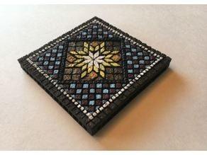 Mosiac 4x4 inch Miniature Tile w/ Openlock