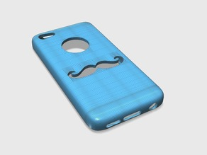 iPhone 5c Moustache Case