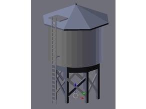 N Scale Water Tower