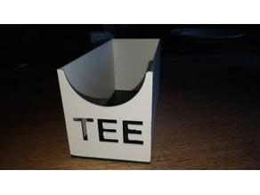 Box for Tea Bags / Teebeutel