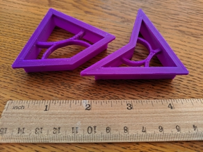 Penrose Tiles (P2) Cookie Cutters