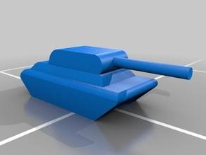 Tank (1:1000 scale)