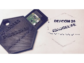 DEF CON 26 Stamp Badge
