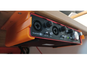 Focusrite Scarlett 2i4 2nd Gen bracket