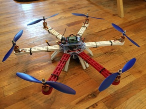 3D Printable Hexacopter