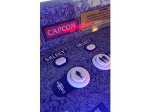 1UP Arcade button mod