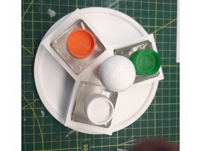 Panel Line or Cement support Tamiya X3 by Zergio
