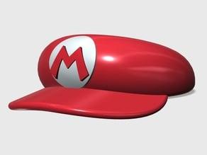 Super Mario cap - bowl for a hamster
