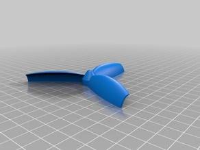 printable propeller compatible with lego axe