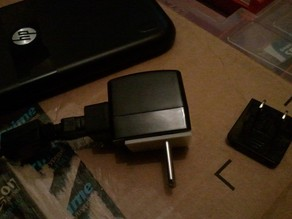 Interchangeable EU-type plugs for HP Prime Calculator USB charger