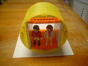 Technic Playmobile spaceship hull plates