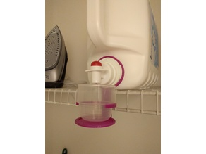 Laundry Detergent Cup Holder
