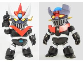 Mazinger deformed pack