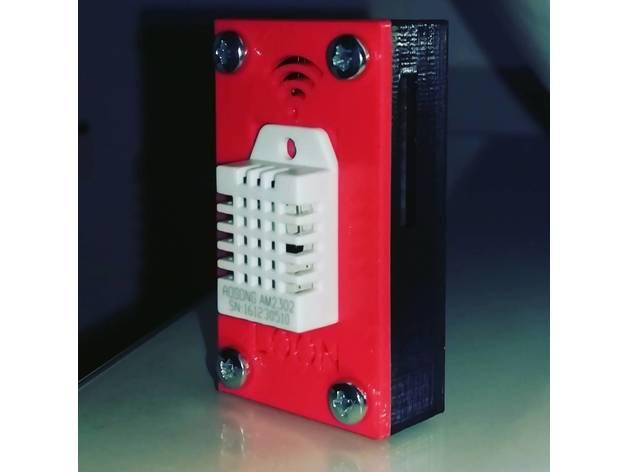 4ef8c93f2cc4c NodeMCU(ESP8266) and DHT22 case by PvL__N - Thingiverse