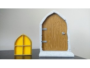 Enchanted Fairy Door & Window
